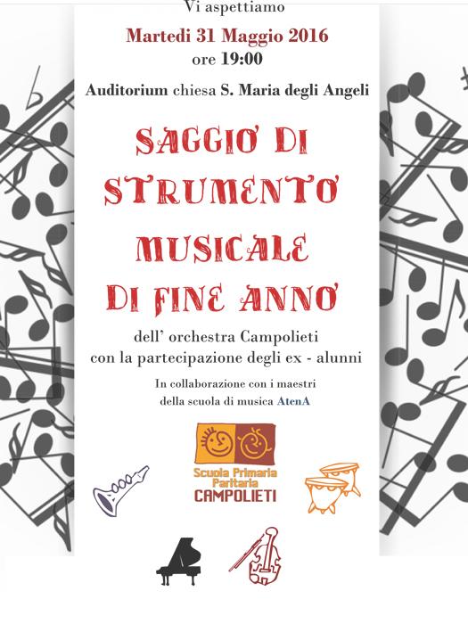 Saggio Orchestra Campolieti
