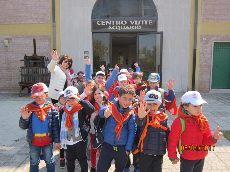 A scuola… sul lago di Lesina!