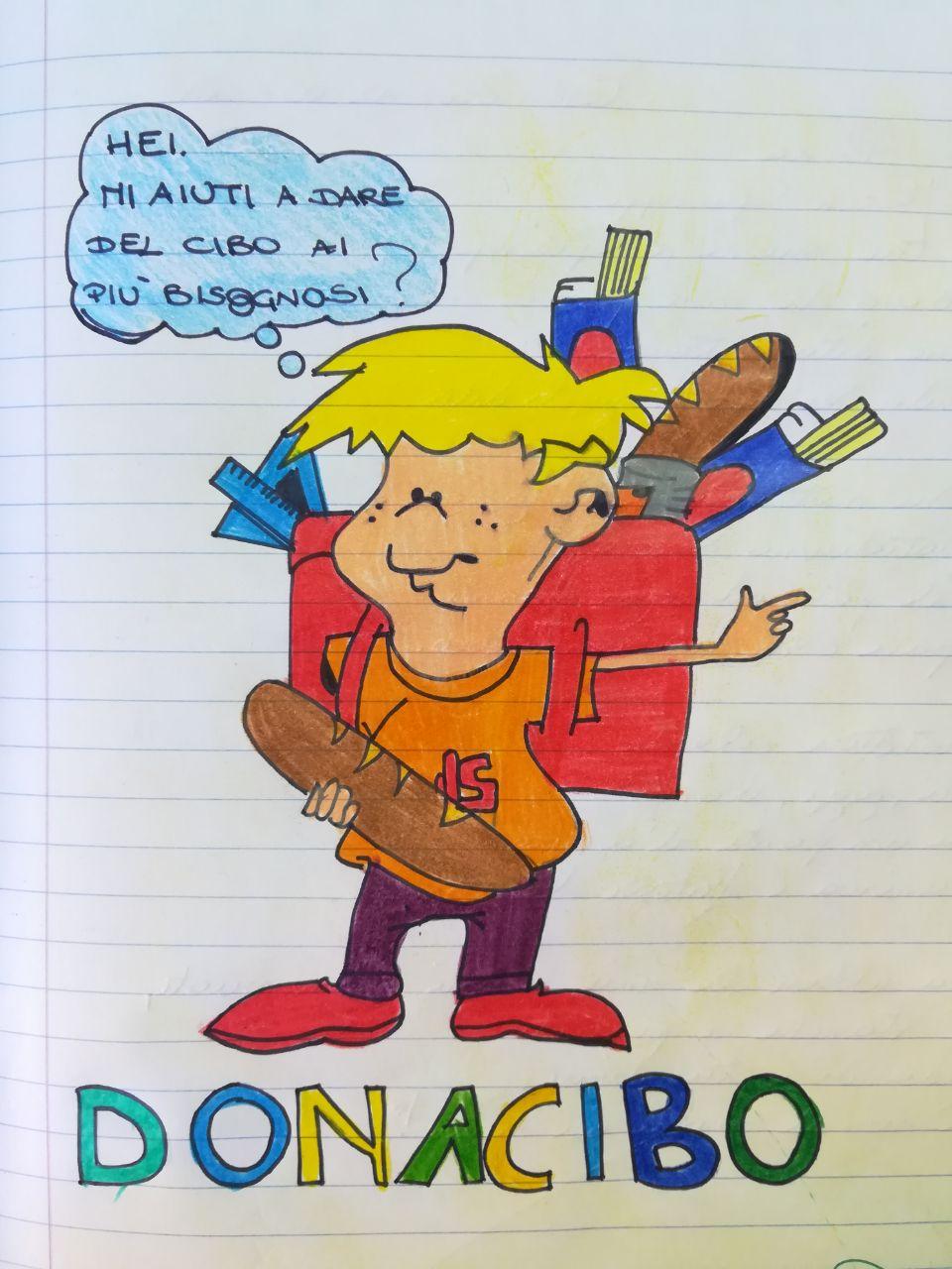 """DONACIBO: """"OGGI ANCHE IO, NEL MIO PICCOLO, HO FATTO UN GESTO DI CARITÀ""""."""
