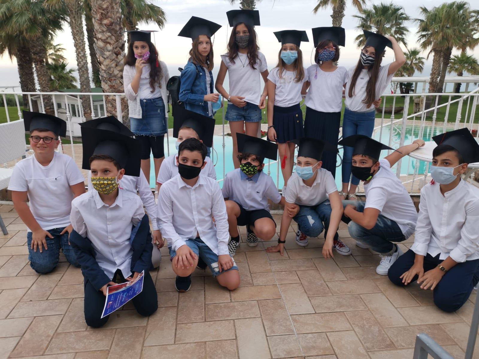 Consegna dei diplomi  A.S. 2019/2020